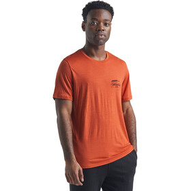 Icebreaker Tech Lite SS Crew Shirt The Good Life Men, roote